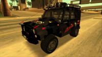 Скриншот к файлу: UAZ Hunter Offroad