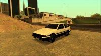 Скриншот к файлу: Toyota Sprinter Trueno GT Apex [AE86] '85
