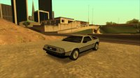 Скриншот к файлу: DMC Delorean '81