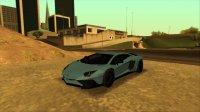 Скриншот к файлу: Lamborghini Aventador LP750-4 SV