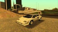 Скриншот к файлу: Lamborghini Countach LP400S '78
