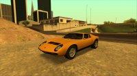 Скриншот к файлу: Lamborghini Miura P400 SV '73
