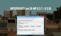 Скриншот к файлу: ANTICRASHER 0.3.7 / 0.3.DL