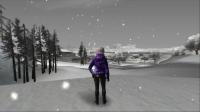 Скриншот к файлу: SnowFX v4.0 - Снегопад