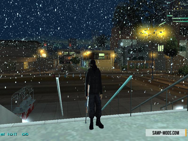 Скачать скрипт снег на сервер samp