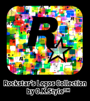 Скриншот к файлу: Rockstar Logos Collection