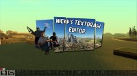 Скриншот к файлу: Nickk's TextDraw Editor v5.0