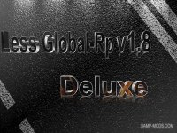 Скриншот к файлу: Less Global-Rp v1.8 Deluxe [FINAL]