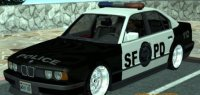 Скриншот к файлу: BMW 535i E34 Police