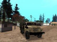 Скриншот к файлу: Ural-4320 Military Truck