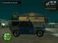 Скриншот к файлу: УАЗ 31512 Милиция