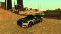 Скриншот к файлу: Audi A6 C8 Federal Tax Police Service