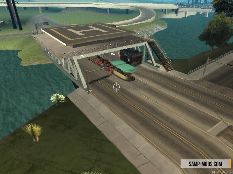 Map новый пост для lspd на мосту ls sf