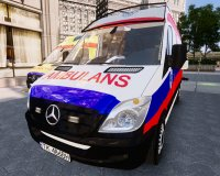 Скриншот к файлу: Mercedes Sprinter Polish Ambulance