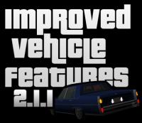 Скриншот к файлу: Improved Vehicle Features v2.1.1