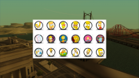 Скриншот к файлу: Fist Pack - The Simpsons