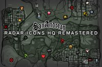Скриншот к файлу: Radar Icons HQ Remastered