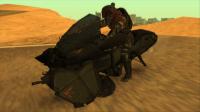 Скриншот к файлу: Advanced Warfare Hover Bike