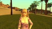 Скриншот к файлу: Marie Rose - Purple Dress