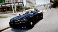 Скриншот к файлу: Florida Highway Patrol 2012 Dodge Charger (ELS)