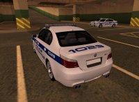BMW M5 E60 Police LS для GTA San Andreas