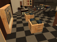 Wood Clothes Shop