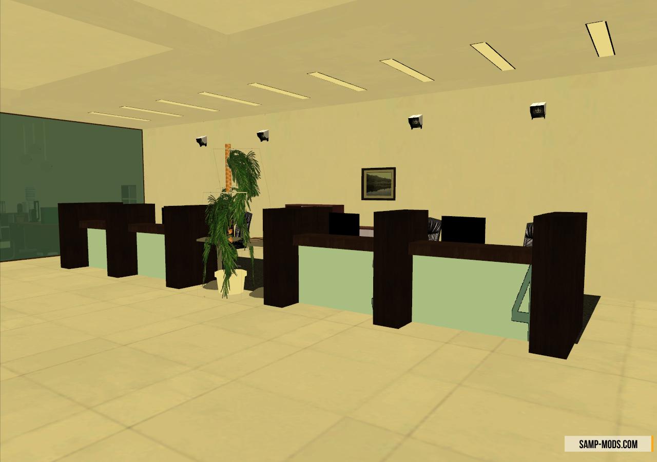 Скачать интерьер банка для самп сервера