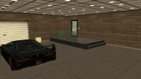 Интерьер двухместного гаража
