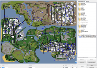 Скриншот к файлу: San Andreas Teleport v 3.0 beta