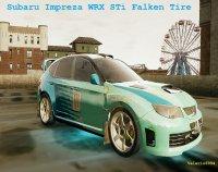 Скриншот к файлу: Subaru Impreza WRX STi Falken Tire