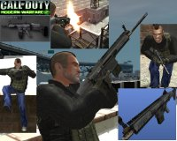 Скриншот к файлу: Call of Duty Modern Warfare 2 SCAR H v3