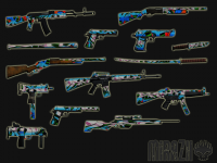 Скриншот к файлу: Graffity Weapons Pack