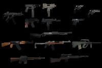 Скриншот к файлу: SA style weapon pack