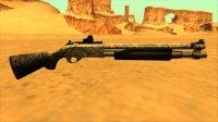 Скриншот к файлу: Remington 870 Silver Smoke