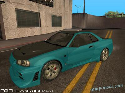 Nissan Skyline R-34 TUNED