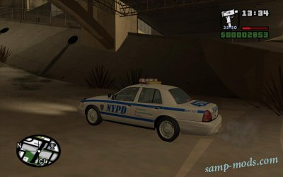NYPD Car for LSPD