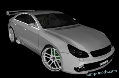 Mercedes Benz CLS500 The GreenFairy Tuning