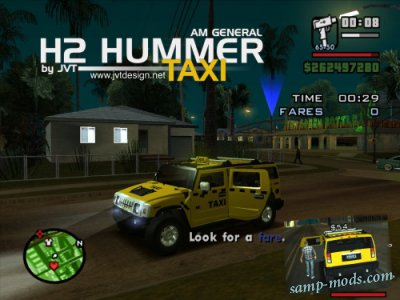 AMG H2 Hummer Taxi