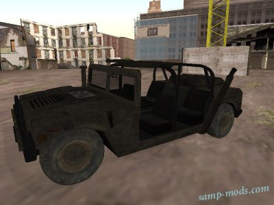 Humvee from Modern Warfare 2