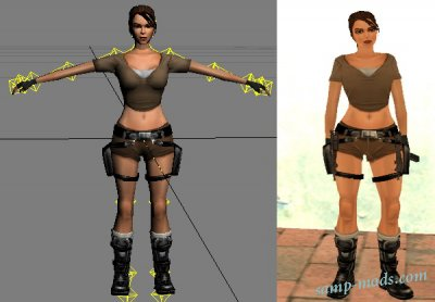 Lara Croft из TR:Legend