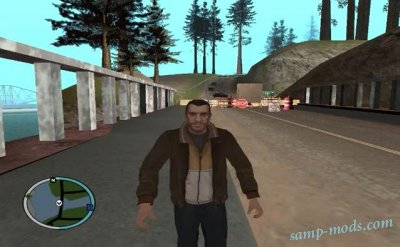 Niko Bellic Player + Endorphin v4