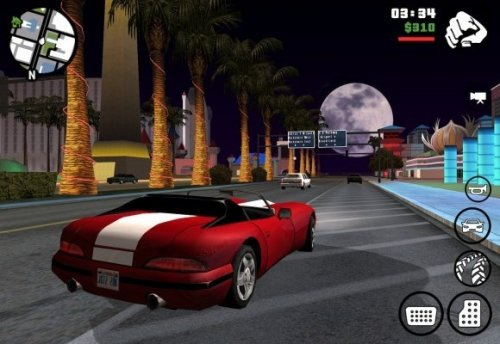 GTA: San Andreas вышла на Android
